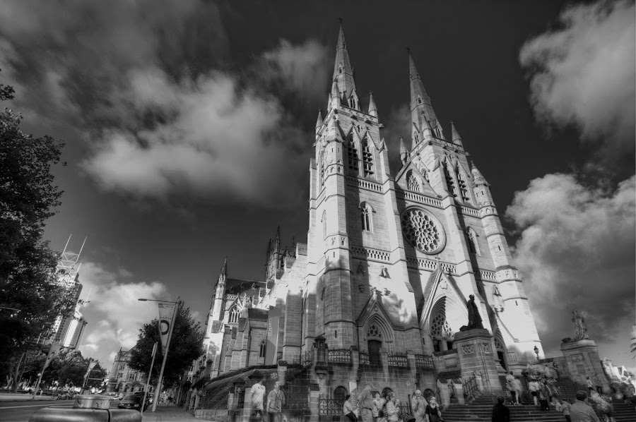 St Mary's Cathedral, Sydney, Australia by Ryan Yap - Buildings & Architecture Other Exteriors ( catholic, church, australia, st mary's cathedral, cathedral, new south wales, architecture, catholic church, sydney )