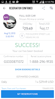 Screenshot of Car Rentals Market App