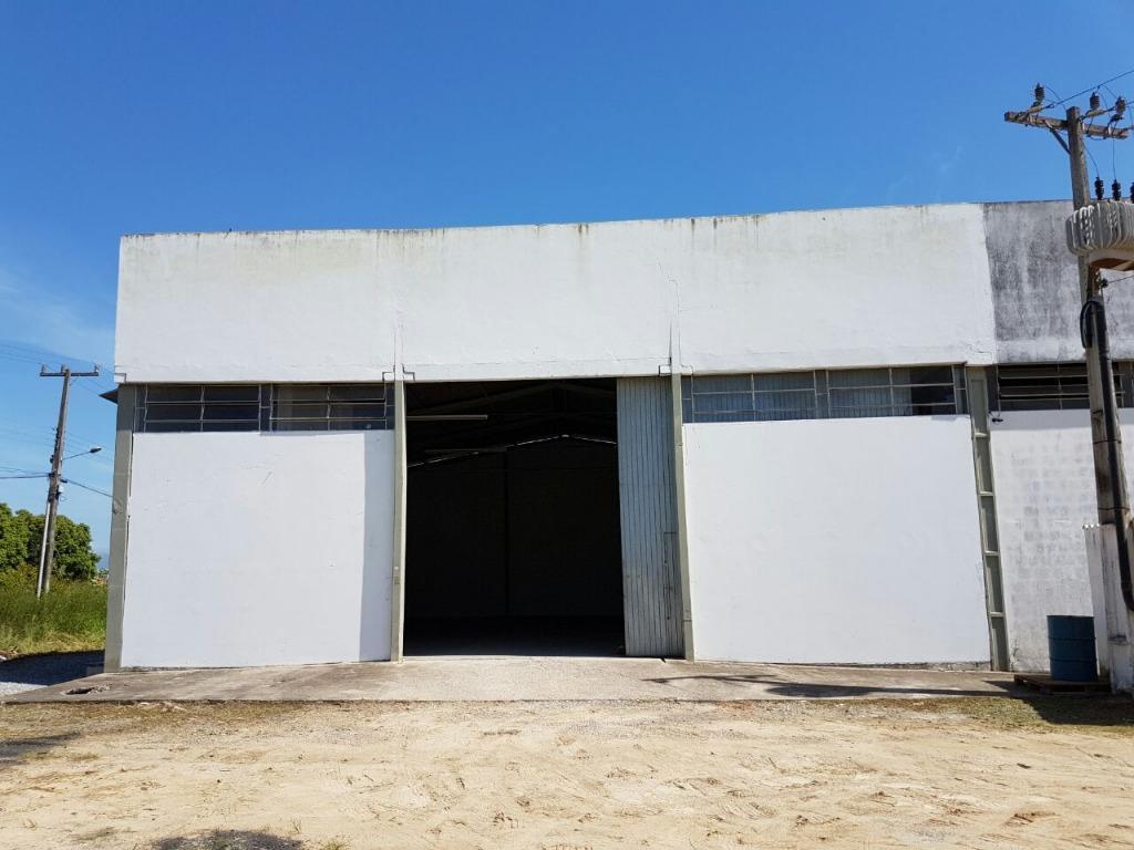 Galpão para alugar, 300 m² por R$ 2.700/mês - Centro - Tijucas/SC