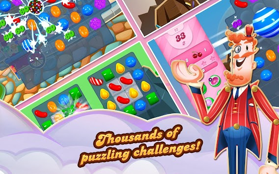 Candy Crush Saga APK screenshot thumbnail 8