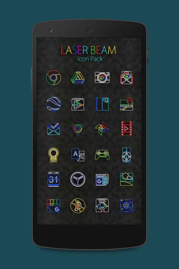 Laser Beam Icon Pack Screenshot 5