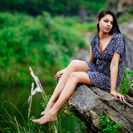 Close to nature by Mithilesh Kumar - People Fashion ( water, jharkhand, mithilesh photography, dreammomentsphotography, monsoon, ranchi, mithilesh's photography, sexy, girl, female, outdoor, hot, photoshoot, shiwani jha, rain, modelshoot )