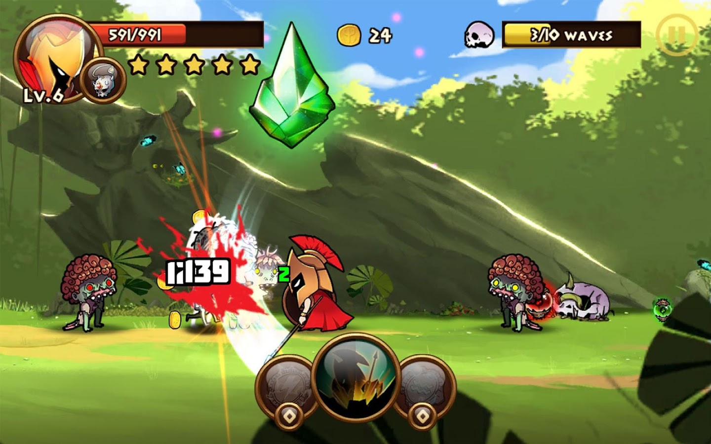 Brave Warriors: Zombie Revenge Screenshot 17