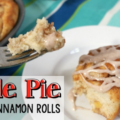 Easy 1-hour Apple Pie Cinnamon Rolls