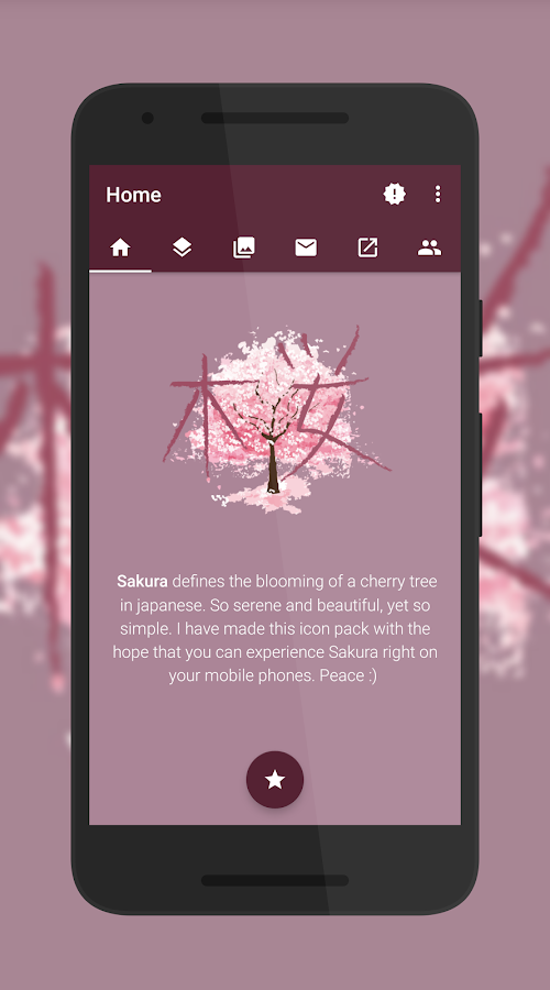 Sakura Icon Pack Screenshot 5