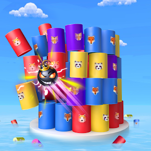 Color Ball 3D - Shoot Color Tower Down For PC (Windows & MAC)