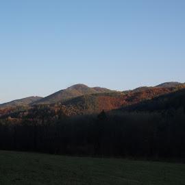 Есен by Georgi Kolev - Novices Only Landscapes ( небе., гора., есен., планина., време. )