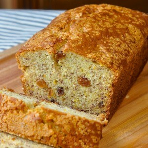 Orange Raisin Five Spice Banana Bread