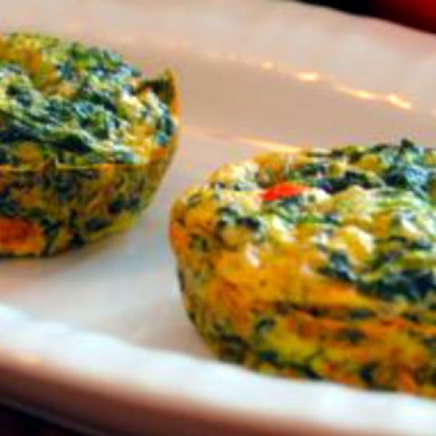 Crustless Spinach Quiche - Breakfast On The Go
