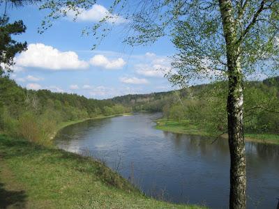 Landscape in Verkiai
