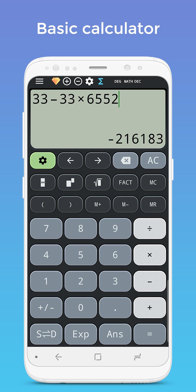 Complex calculator & Solve for x TI-36 TI-84 Plus Screenshot 7