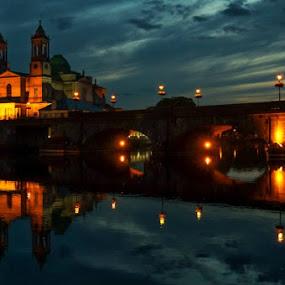Athlone, Ireland by Elena Lashneva - City,  Street & Park  Historic Districts