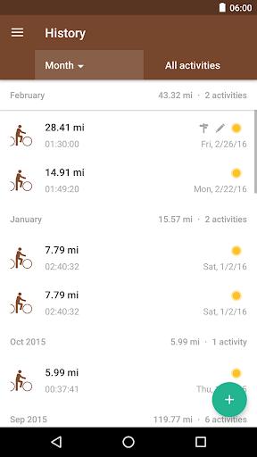 Runtastic Mountain Bike GPS Tracker screenshot 4