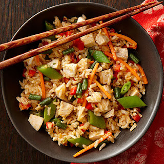 Thai Lemongrass Roast Chicken Fried Rice