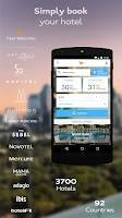 Screenshot of AccorHotels hotel booking