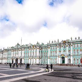 Winter Palace by Antonello Madau - City,  Street & Park  Vistas