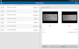 Screenshot of Zions Bank Business Banking
