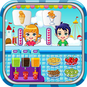 Ice cream maker game