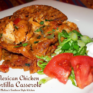 Mexican Chicken Tortilla Casserole Recipes