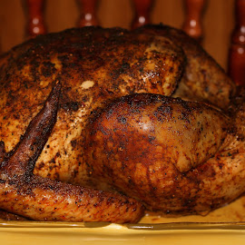 Roasted Turkey by Abbey Gatto - Food & Drink Cooking & Baking ( thanksgiving day, roasted turkey, turkeey, holidays, cooking, close up )
