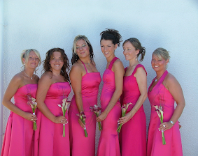 Bespoke Bridesmaid Dresses.