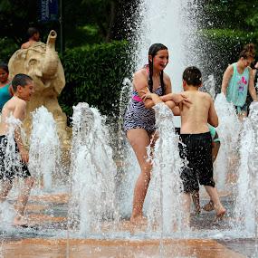 Summer Fun by Karen Carter Goforth - Uncategorized All Uncategorized ( playing, water, summer, fun, kids,  )
