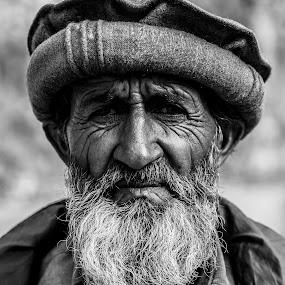 desire by Umair Khan - People Portraits of Men ( senior citizen, men, bnw, people, natural, portrait, , face, photography, closeup, close, up )