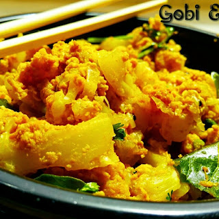 Cauliflower/Gobi Egg Curry
