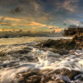 deja vu by Danielle Baron - Landscapes Waterscapes ( reef, waves, ocean, surf )