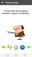 Screenshot of Piadas de Sogra