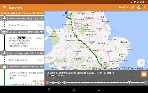 Traveline GB - screenshot