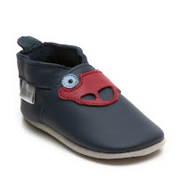 Bobux Car Navy Slip On PRAM