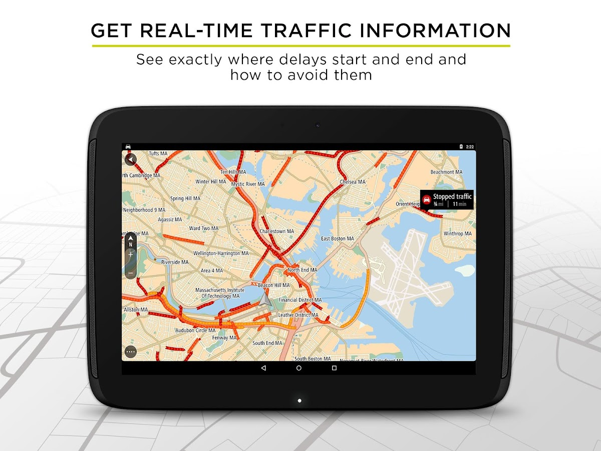TomTom GPS Navigation Traffic Screenshot 8