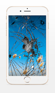 Prank Broken Screen iphone - screenshot