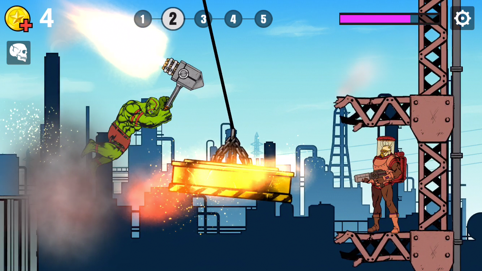 LIMP HEROES -PHYSICS ACTION!- Screenshot 1