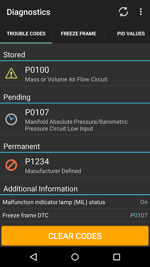 OBD Fusion (Car Diagnostics) Screenshot 3