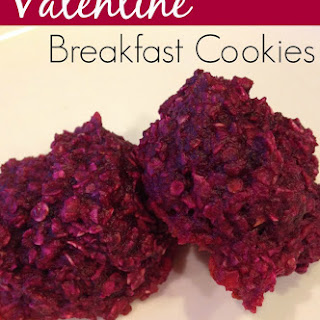 Valentine's Day Breakfast Cookies with Hidden Vegetables