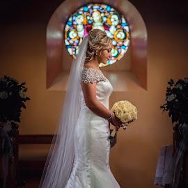 by Janusz Trzesicki - Wedding Bride