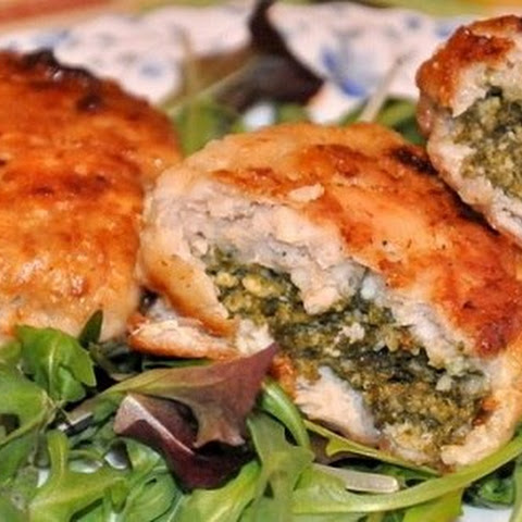 Chicken With Cheese And Spinach
