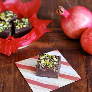 Pomegranate Fudge