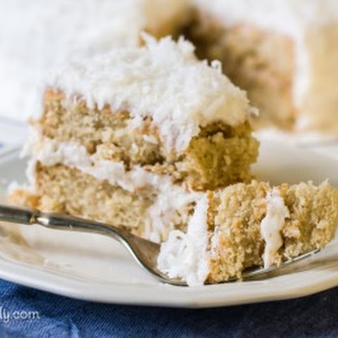 Vegan Coconut Cake