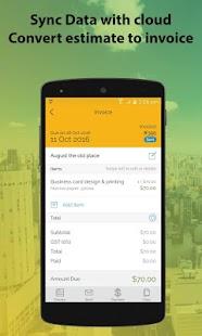 Invoice Estimate Most Advanced Invoice App Invoice Estimate - Estimate invoice app