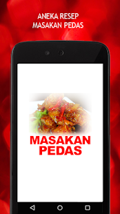 Resep Masakan Pedas - screenshot
