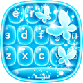 Neon Blue Keyboard Changer APK for Lenovo