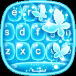 Neon Blue Keyboard Changer Icon