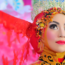 by Babang Ozand - Wedding Bride ( wedding dress, prewedding, wedding photography, closeup, wedding )