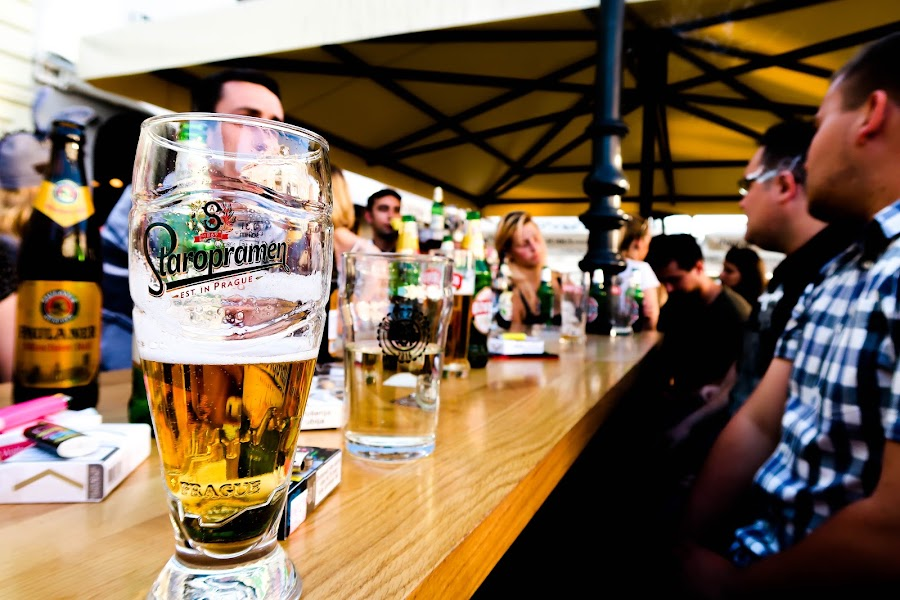 Staropramen by Josip Alar - Food & Drink Alcohol & Drinks ( friends, beer, slavonski, brod, alcohol, drink, staropramen, croatia, summer, beerc, fun, bar )
