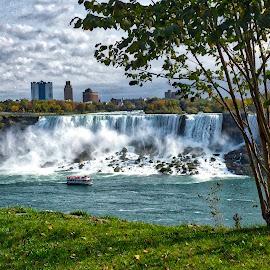 Niagara Falls by Debra Branigan - City,  Street & Park  Vistas ( niagara falls, vista, historic district, photography, city )