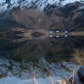 Ingelsfjorden by Yvonne Reinholdtsen - Landscapes Mountains & Hills