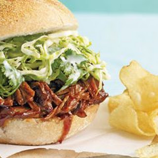 Slow Cooker Pulled-Pork Sandwiches with Cabbage Slaw